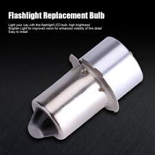 5W 6-24V P13.5S Lampadina LED Ricambio Per Torcia ad Alta Luminosità