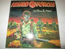 Armed Forces - Let There Be Metal Vinyl LP Metalic Flames Records 1984