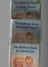 BOBBSEY TWINS 12 ASSORTED VINTAGE KIDS FICTION HCs 1913-1940s