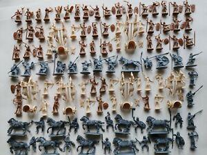 Lot soldats esci atlantic strelets barbares égyptiens antiquité figurines 1/72