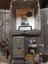 Vintage Keystone 100G 8mm Movie Projector Works