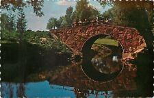 Peterborough Ontario~Kids Hanging over Stone Arch Bridge in Beavermead Park~1960