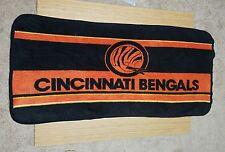 NFL Cincinnati Bengals Official Vintage San Marcos Team Blanket Throw