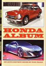 Book - Honda Cars & Motorbikes Cub Dream Civic 360 800 Z Accord CRX Auto Review