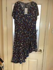 Ladies Clothes Size Small Zara Trafaluc Summer Dress Unusual Asymetric New (363)