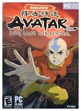 Avatar The Last Airbender Pc Brand New Sealed Retail Box Nice XP