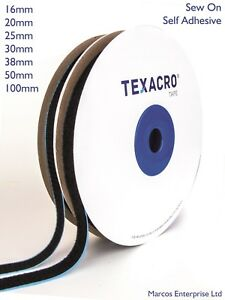 Quality TEXACRO® by VELCRO® Companies Hook and Loop Tape Self Adhesive Sew On