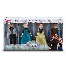 Disney Store Frozen Elsa Anna Hans Kristoff  Frozen Mini Doll Set Retail New