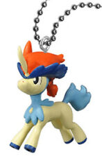 BANDAI Pokemon Best Wishes Movie Keychain Gashapon Figure Keldeo