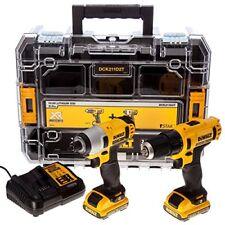 Avvitatori elettrici gialli per il bricolage e il fai da te con inserzione bundle