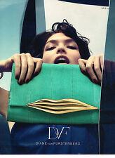 PUBLICITE ADVERTISING 014   2013   DIANE DE FURSTENBERG  collections sacs
