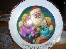 "1999 Avon Christmas Plate, ""Santa'S Tender Moment"" Ship Discount on add'l buy"