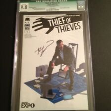 Thief Of Thieves #1 CGC 9.8 Image Expo Variant. Signed Kirkman WALKING DEAD 19
