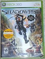 XBox 360 - Shadowrun (New)