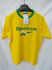 BNWT Mens Sz Large Green/Gold Reebok Short Sleeve T Shirt RRP $50