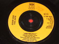 "7"" SINGLE - ADAM AND THE ANTS  - ANTMUSIC - S CBS 9352"