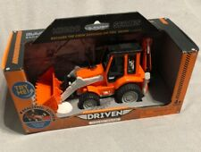 Backhoe Loader. Micro Series. Batteries Required For Sound. New In Box.
