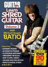 NEW Learn Shred Guitar, Volume 2 by Michael Angelo Batio