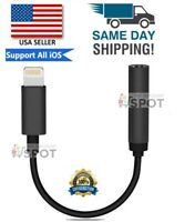 For Apple AUX Adapter Jack Lightning to 3.5mm Cord Dongle iPhone 7 8 11 PLUS MAX