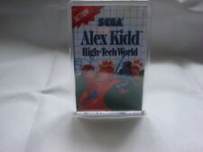 SEGA MASTER SYSTEM  GAME COVER FRIDGE MAGNET ALEX KIDD IN HIGH TECH WORLD