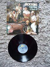 "Michael Jackson The Jacksons Torture 4 Track 1984 Epic UK 12"" Vinyl Single A1/B1"