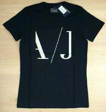 Emporio Armani T-Shirt Rundhals Herren Stretch Schwarz Gr. XL