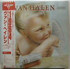 VAN HALEN 1984 JAPAN ORG LP Minty!Eddie DAVID LEE ROTH