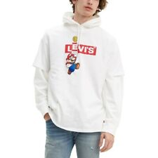 T-shirt Uomo Levi's GRAPHIC CREWNECK NINTENDO MARIO BOXTAB S/S T-SHIRT Bianco 22