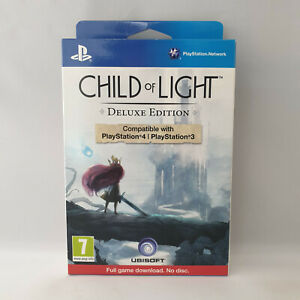 Sony Playstation 4 PS4 - Child of Light Deluxe Edition NEW SEALED