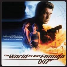 THE WORLD IS NOT ENOUGH 2-CD David Arnold LA-LA LAND James Bond Soundtrack NEW