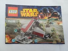 LEGO Star Wars Instruction Book Set 75035 Kashyyyk Troopers