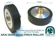 Akai PINCH ROLLER larger 20494 for 4000 series D DB DS DS MkII GX 1721 & 1722
