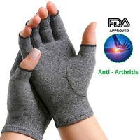 Arthritis Compression Gloves Support Hand Wrist Brace Carpal Tunnel Pain SFC