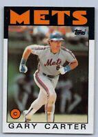 1986  GARY CARTER - Topps Baseball Card # 170 - NEW YORK METS