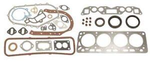 Nissan H25 forklift full gasket set head valve cover oil pan intake exhaust mfd