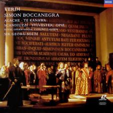 Verdi, Simon Boccanegra, Laserdisc, Pristine Condition