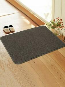 Soft Anti slip Kitchen/Door Mat With Latex Rubber Backing (45X65 CM)-Grey Color
