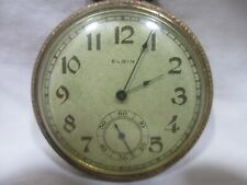 Elgin Pocket Watch keystone case Not Running