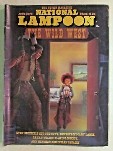 NATIONAL LAMPOON - THE HUMOR MAGAZINE  - JUNE 1978 ISSUE - NICE COPY