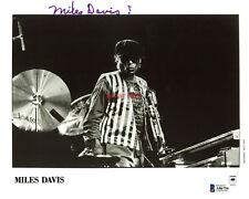 Miles Davis Autographed 8x10 Signed Photo Reprint