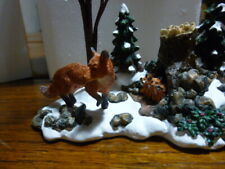 Dept 56 Foxes in the Forest Village Accessories 52744
