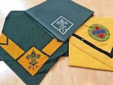 3  Vintage  Scouting  Scarfs