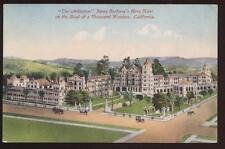 Postcard Santa Barbara Ca Arlington Hotel View 1907?