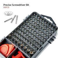 112 in 1 Screwdriver Set Magnetic Screwdriver Bit Torx Mobile Repair Multi L1N2