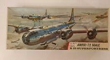 AIRFIX B29 SUPERFORTRESS 1/72 MODEL KIT 781