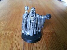 Metal Warhammer LOTR OOP 1x Saruman with Palantir
