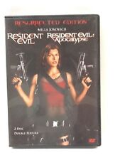 Resident Evil, Resident Evil Apocalypse 2 Disc Double Feature DVD