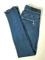 ADRIANO GOLDSCHMIED Womens THE LEGGING ANKLE Low Rise Skinny Jeans Size 26 (2) R