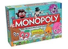 Official Moshi Monsters Edition MONOPOLY Children's Property Board Game