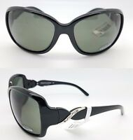 NEW Suncloud sunglasses Weave Black Grey Polarized Women's Medium-Large FASHION